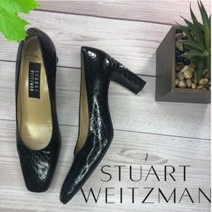 Stuart Weitzan Black Heels classic  Pumps